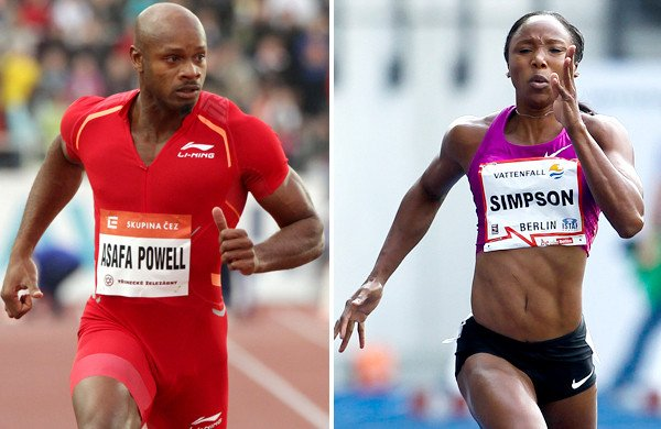 Asafa Powell, Sherone Simpson drug case WADA