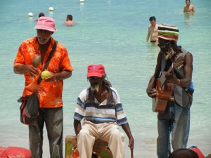 Jamaicans got to the beach everyday