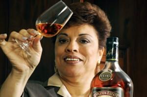 Jamaican Joy Spence world's first female master blender