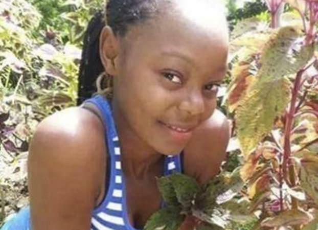 Black jamaican teen having at school was