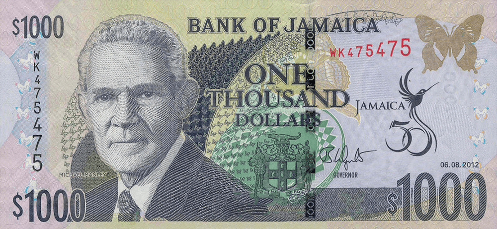 1000DollarsJamaicanCurrency