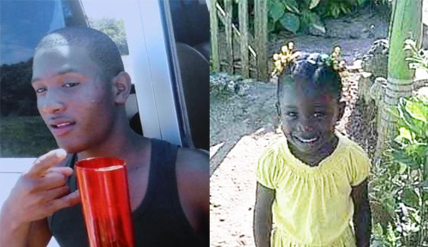 Suspect Alexus Newland (left) and Nevalesia Campbell