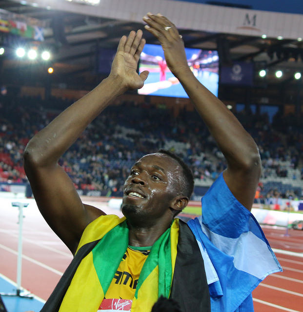 Usain Bolt - 'The Legend' via Flickr