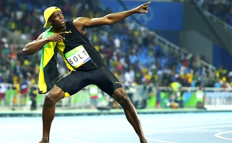 Usain Bolt via Youtube