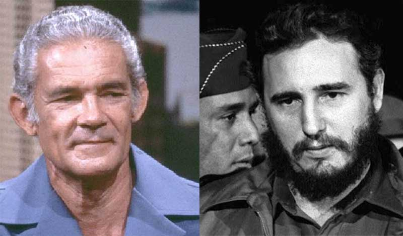 Michael Manley (Left) and Fidel Castro
