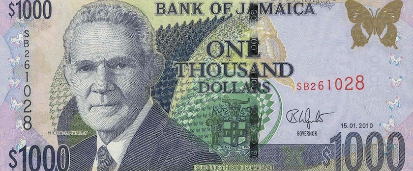 Jamaican Dollars To The Us Dollar June 2020